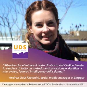 Andrea Livia Faetanini