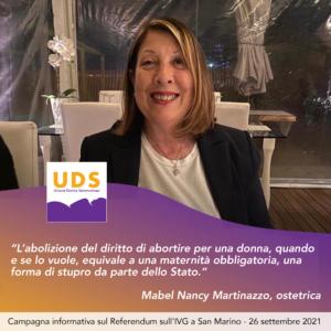 Nancy Mabel Martinazzo