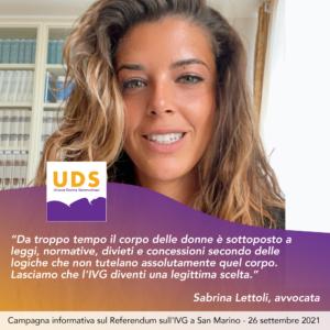 Sabrina Lettoli