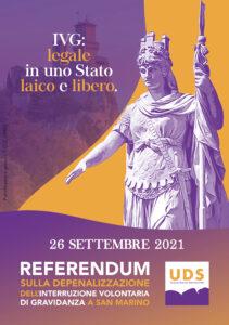 Brochure informativa Referendum COPERTINA