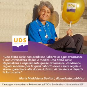 Maria Maddalena Bevitori
