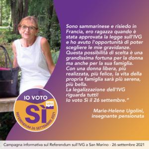 Marie-Helene Ugolini