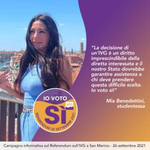Mia Benedettini